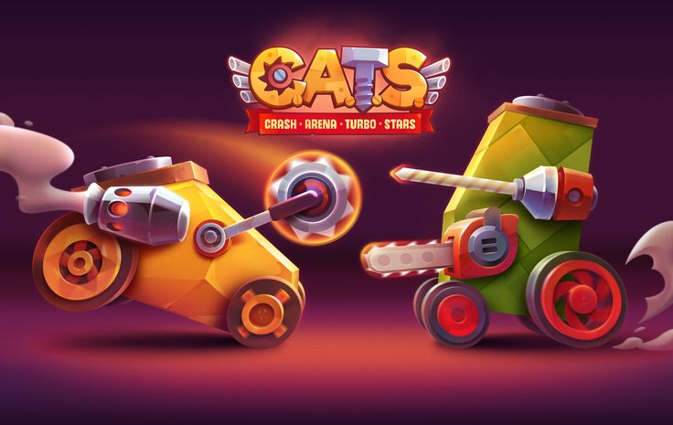 Promo art for C.A.T.S. game.