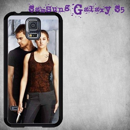 Theo James and Shailene Woodley Print On Hard Plastic For Samsung Galaxy S5 , Black Case  Description:  Create special case by using your favorite photos or thoughts to inspire and motivate you everyd