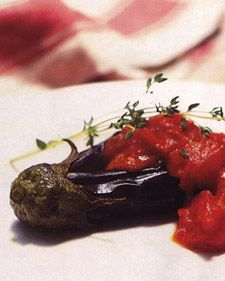 ... with Chunky Tomato Sauce | Recipe | Eggplants, Tomatoes and Texture