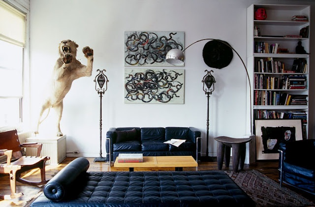 A look inside the home of Eric Goode