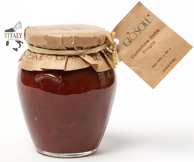 JAM PLUM   This delicious and fragrant extra jam Plums is particularly suitable for breakfast or for the preparation of pies.