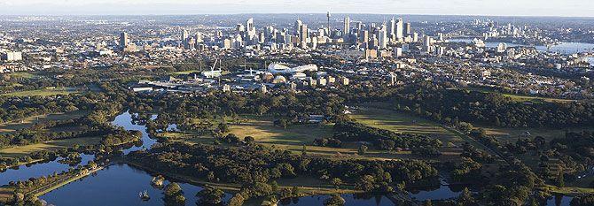 Centennial Park- Den största parken i Sydney. Här kan du ta en joggingtur eller en ridlektion!