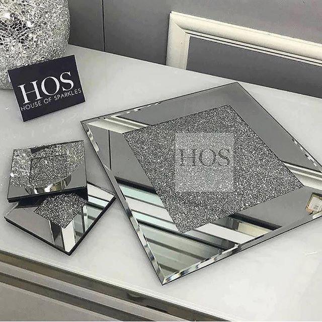 Sparkle Diamond Placemats And Coasters Shop Now At Www Houseofsparkles Co Uk Sparkles Diamonds Coasters Place Mirror Placemats Sparkle Diamonds Glam Decor