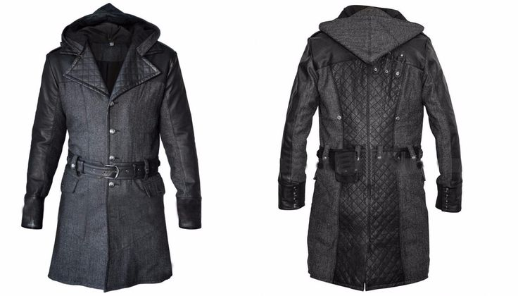 From the famous Video game Assassin's Creed Syndicate, our online store presented the Jacob Frye Trench Coat for all game lovers. Made from the high quality Synthetic leather and soft wool fabric.  Buy today the fascinating Jacob Frye Coat at discounted price.