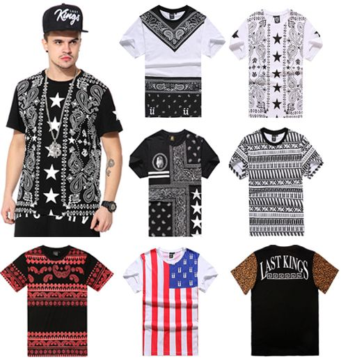 Cheap clothing newborn, Buy Quality clothing patch directly from China clothing underwear Suppliers:       2015 New westside botto red leather joggers hiphop t-shirt  PU short sleeve dress shirt patchwork long street side