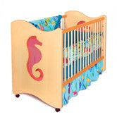 """Perfect for my """"Under The Sea"""" baby room theme... whether they be my little merman or mermaid... Found it at Wayfair - Tropical Seas 2-in-1 Convertible Crib"""