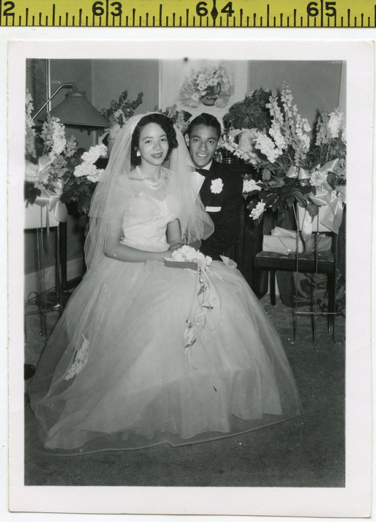 Details About Vintage 1950 S Wedding Party Photo With