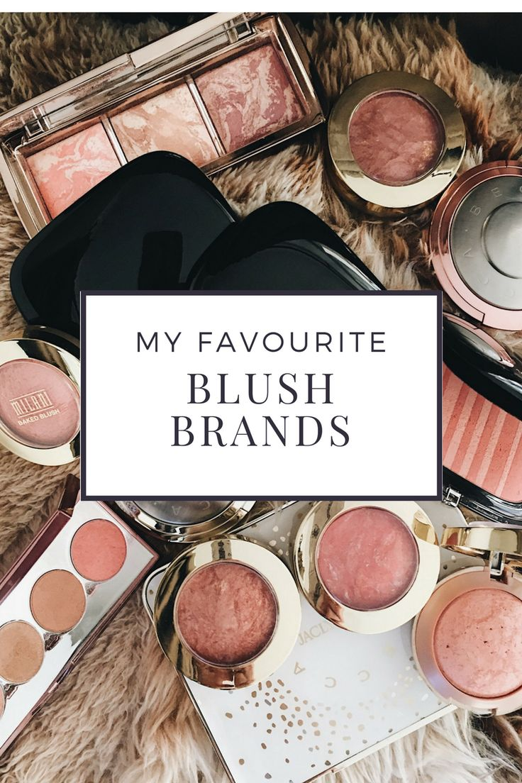 "I love the way in which blush can enliven your face.  It can add colour when you are feeling tried and under the weather.  It can add a pop of colour to your cheeks when you need an uplift as well as adding a ""glow"" when you want to look alive and healthy. Here is a video with my favourite blush brands. http://www.angelacbeautyandflair.com/favourite-blush-brands/ marc jacobs air blush, becca blush, milani blush, hourglass ambient blush"