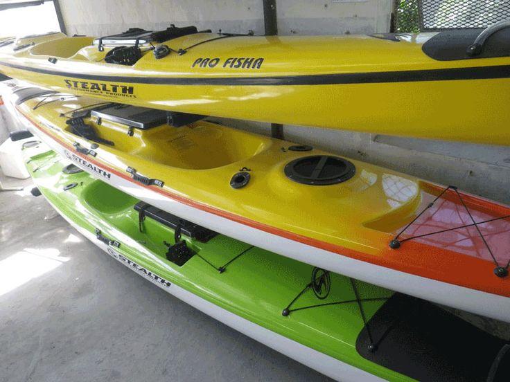 See the full range of Stealth Fishing Kayaks on www.kayakfishingsa.co.za.....Buy online!!!!!!