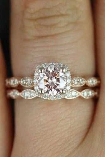 Vintage collection engagement rings