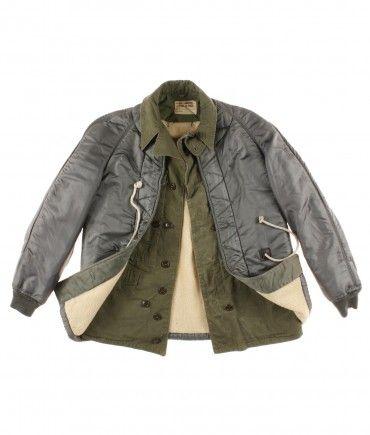 #Vintage RECYCLED #militaryjacket #customized