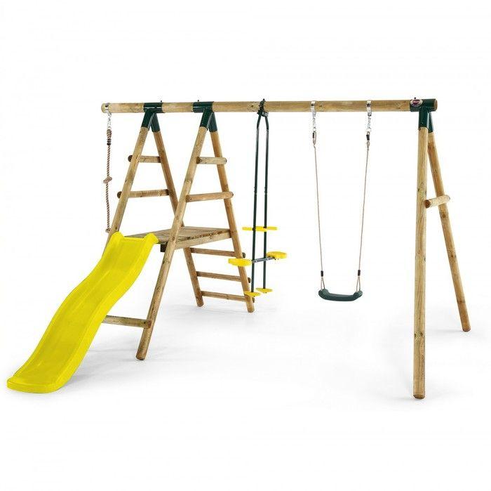 Plum Meerkat Wooden Swing Set. Available at Kids Mega Mart online Shop Australia