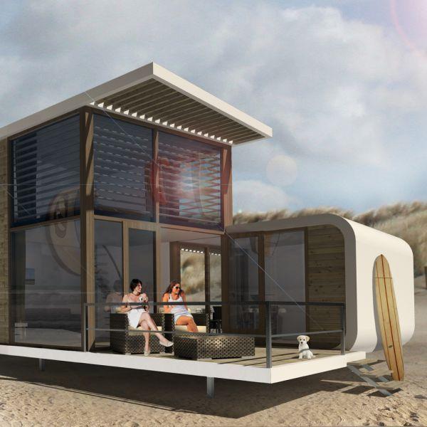 Strandhuisje Nieuwvliet-Bad