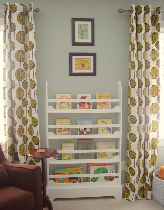 Walls: Benjamin Moore; Color: Beachglass