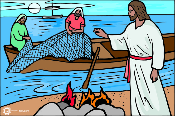 jesus and peter clipart - photo #11
