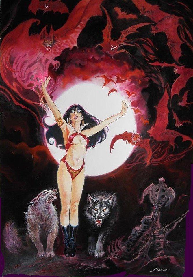 Vampirella by Esteban Maroto