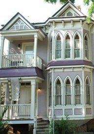 Victorian homes are so vintage