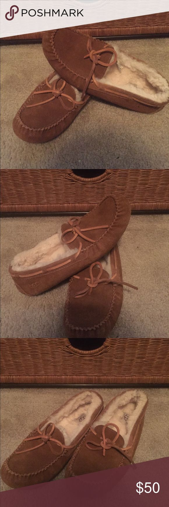 Ugg Olsen Shearling Slipper This great cognac colored slipper is in great condition. An Authentic Ugg last forever. They come from a smoke and pet free home. UGG Shoes