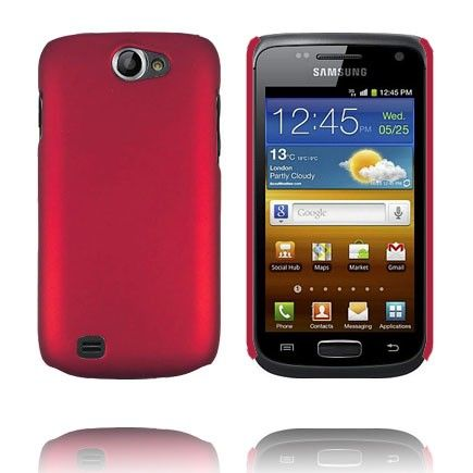 Hard Case (Punainen) Samsung Galaxy W Suojakuori
