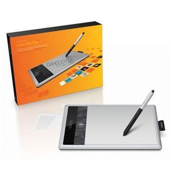 Wacom Bamboo Fun Pen & Touch Small - Fnac.com - Tablette graphique 79,90 euros