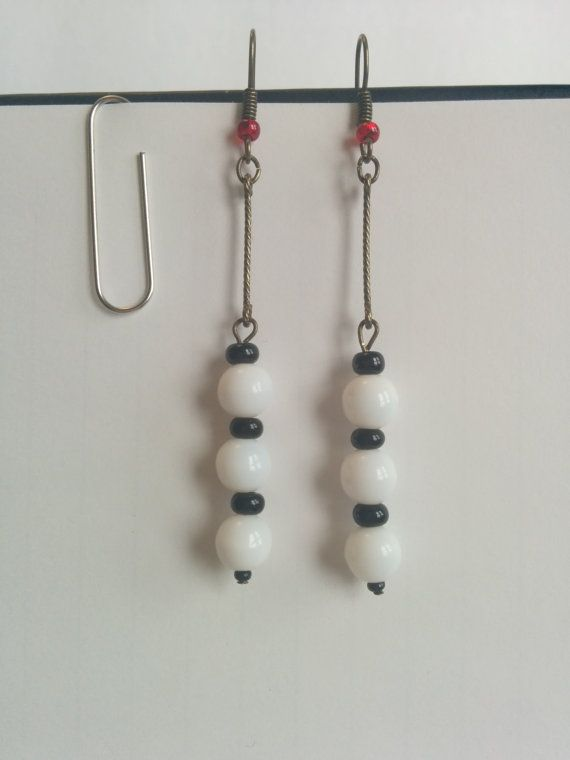 Unique Night Circus Inspired Earrings, $14