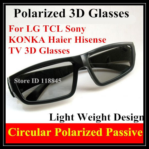 >> Click to Buy << 4pcs  Passive 3D Glasses for RealD 3D Movie Cinemas and LG Passive 3D TV Circular Polarized 3D Glasses Free Shipping #Affiliate