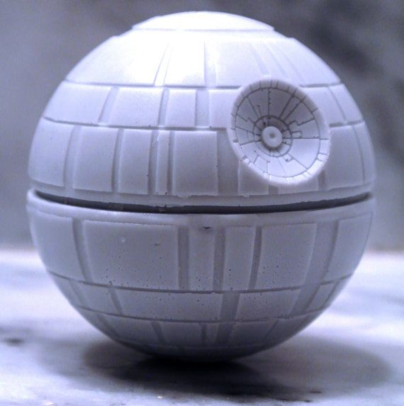 Handmade Death Star Soap - Star Wars, Birthday present, party filler on Etsy, $6.80