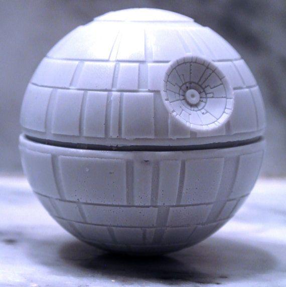 Handmade Death Star Soap - Star Wars, Birthday present, party filler on Etsy, $6.80
