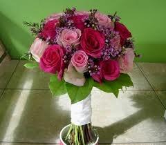 **julie**fuschia wedding flowers ideas - Google Search