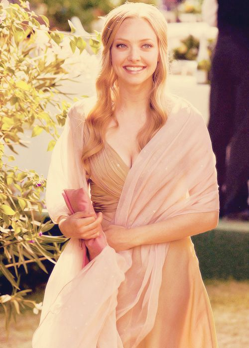Amanda Seyfried in Letters to Juliet. I don't care what anyone says...she is such a beautiful woman!