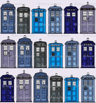 doctor who tardis fabric!  make whatever your heart desires.