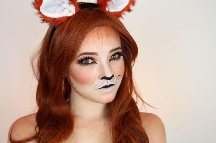 NYX Halloween - FreshBlush Fox Tutorial