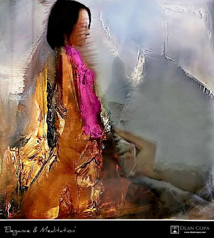 ''Elegance & Meditation'' 2014 by Dean Copa. New Techniques // Instagram : http://www.instagram.com/dean_copa #DeanCopa #modernart #contemporaryart #fineart #finearts #artoftheday #artdiary #kunst #art #artcritic #artlover #artcollector #artgallery #artmuseum #gallery #contemporaryartist #emergingartist #ratedmodernart #artspotted #artdealer #collectart #contemporaryart