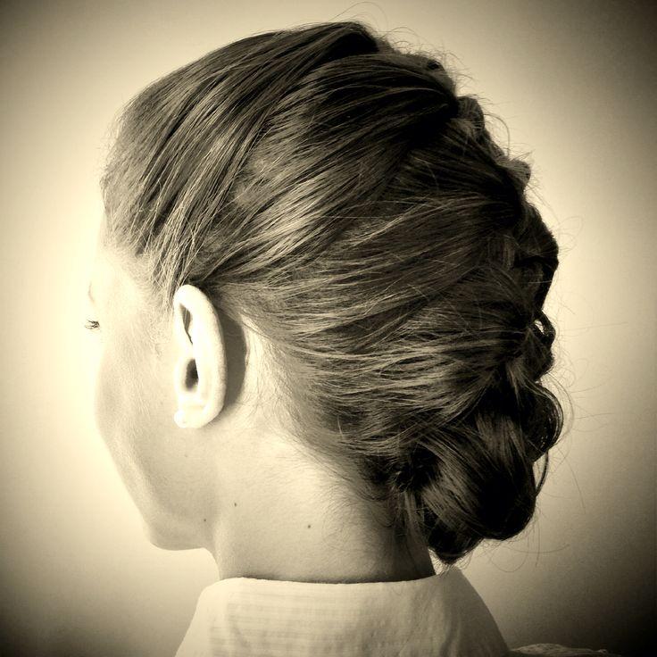 Classic Frenchbraid. Hair: Sophie B.