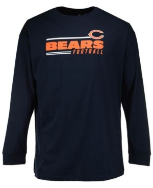 Profile Men's Chicago Bears Line of Scrimmage Big & Tall T-Shirt - Blue 2XT