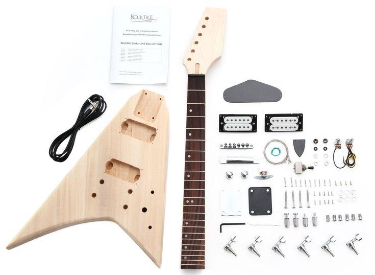Rocktile E Gitarren Bausatz RR Style