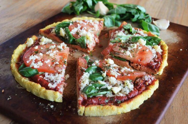 Coconut Flour Pizza - Dr Jockers http://DrJockers.com