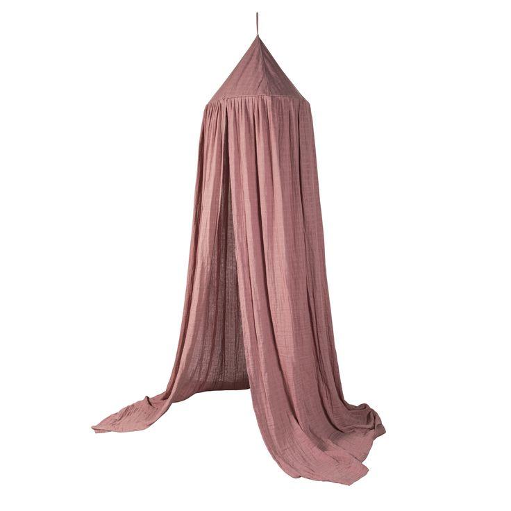 Klamboe - vintage roze - 100% katoen - Sebra