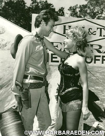 Clint Eastwood and Barbara Eden, Rawhide