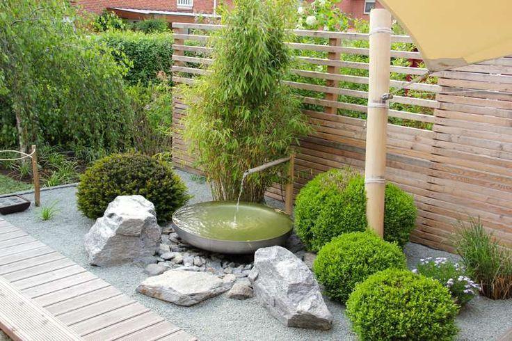 Umbau Und Renovierung Der Modernen Gartengestaltung Mit Moderner Bepflanzung In 2020 Japanischer Garten Garten Gartengestaltung