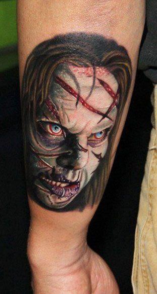 125 best exorcist tattoos images on pinterest horror for Mobile tattoo artist