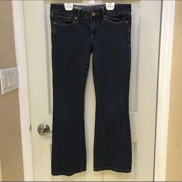 Gap 1969 curvy jeans petite Gap 1969 curvy jeans. Size 6 petite. 99% cotton 1% elastane. Great condition. GAP Jeans Ankle & Cropped