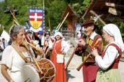 Feria medieval, hameau du Père Noel