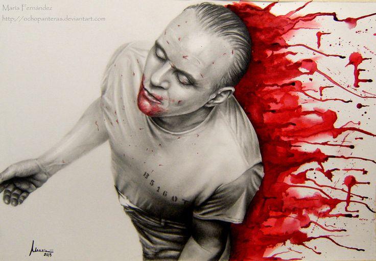 Hannibal Lecter (Anthony Hopkins) by ochopanteras