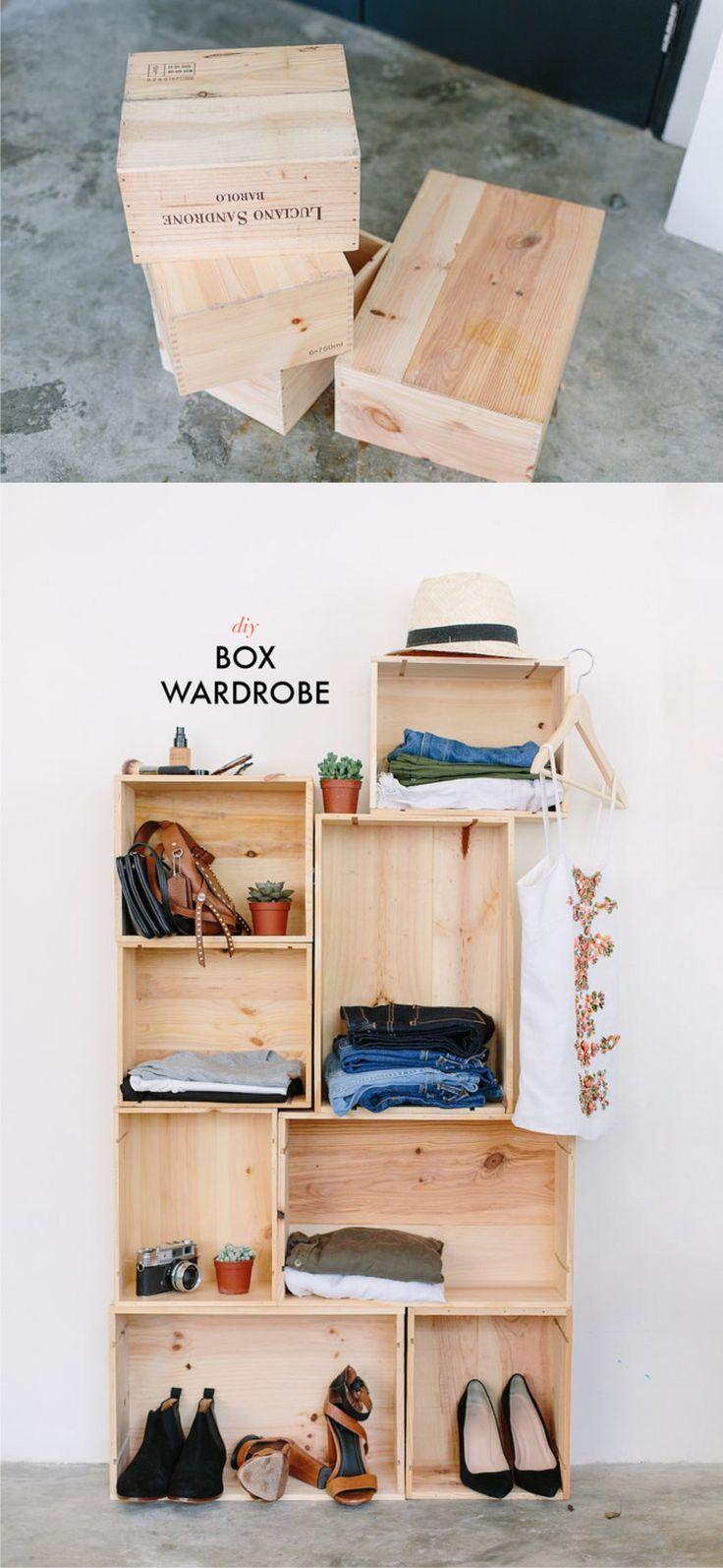 Meer dan 1000 ideeën over houten kisten op pinterest   houten ...