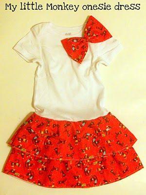 Red dress 2t onesies