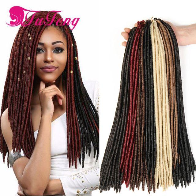 Best 25 braided dreadlocks ideas on pinterest dreadlocks faux locs crochet hair extensions 18 inch 24 roots 100gpack crochet braids dreadlocks havana pmusecretfo Image collections