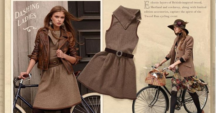 Ralph Lauren Goes All In On Cycle Chic / courtnee cycles chic