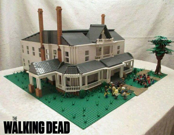 Walking Dead Legos #HershelsFarm