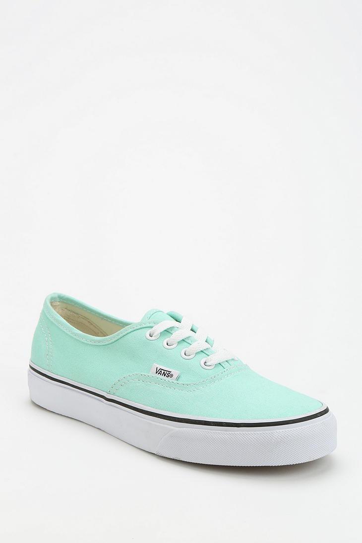 Mint | Vans Authentic Canvas Sneaker #urbanoutfitters
